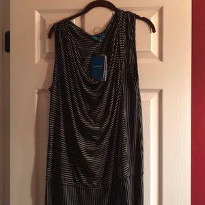 Derek Lam dress. Size large. Black/white. NWT.